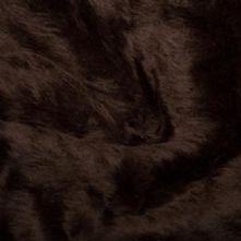 Brown Fun Fur Fabric x 0.5m